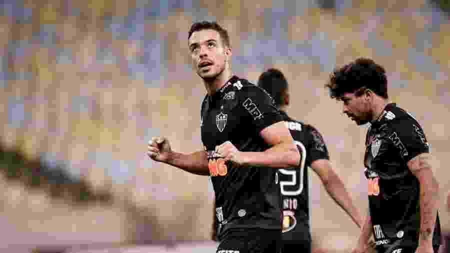 Franco Di Santo voltou a marcar após sete jogos e seca evidenciou dificuldades dos centroavantes no Atlético - Divulgação/Atlético-MG