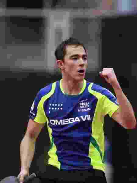 Hugo Calderano - Divulgação/ITTF