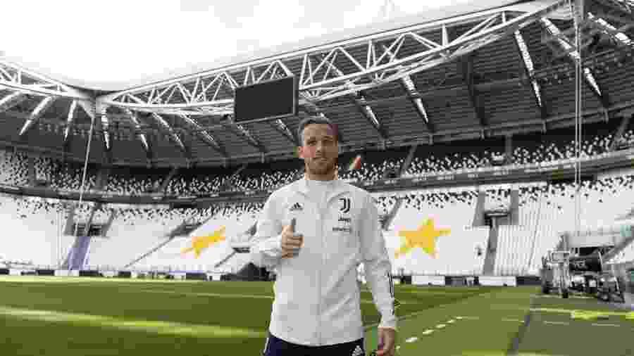 Arthur, agora na Juventus, é o reforço mais caro do futebol italiano nesta temporada - Reprodução/Juventus