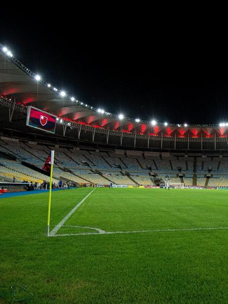 Maracanã antes do duelo entre Flamengo e Boavista, pela Taça Rio de 2020 - Alexandre Vidal / CRF
