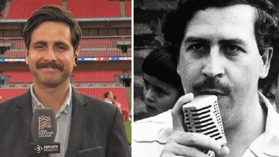 """Klopp comparou o repórter Fred Caldeira a Pablo Escobar - Reprodução/Instagram e All That""""s Interesting"""