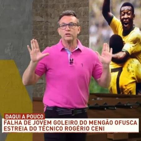 Neto diz que São Paulo venceu Flamengo jogando com estilo de Fábio Carille - Reprodução/Band