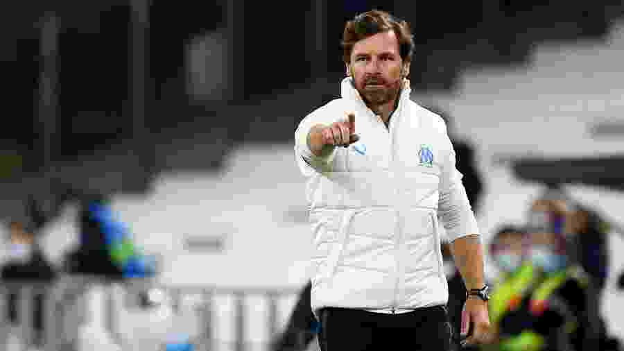André Villas-Boas afirmou que Luís Henrique não tem condições de atuar como centroavante da equipe francesa - NICOLAS TUCAT / AFP