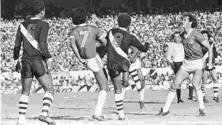Final do Brasileirão de 1979: Inter x Vasco - ARQUIVO/ESTADÃO CONTEÚDO/AE - ARQUIVO/ESTADÃO CONTEÚDO/AE