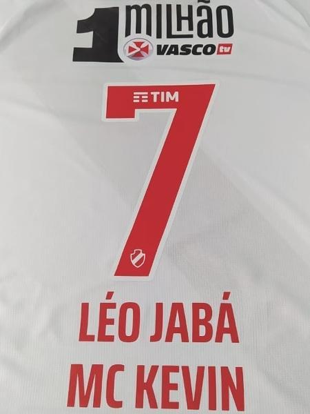 Léo Jabá vai homenagear MC Kevin em final da Taça Rio - Reprodução/Vasco
