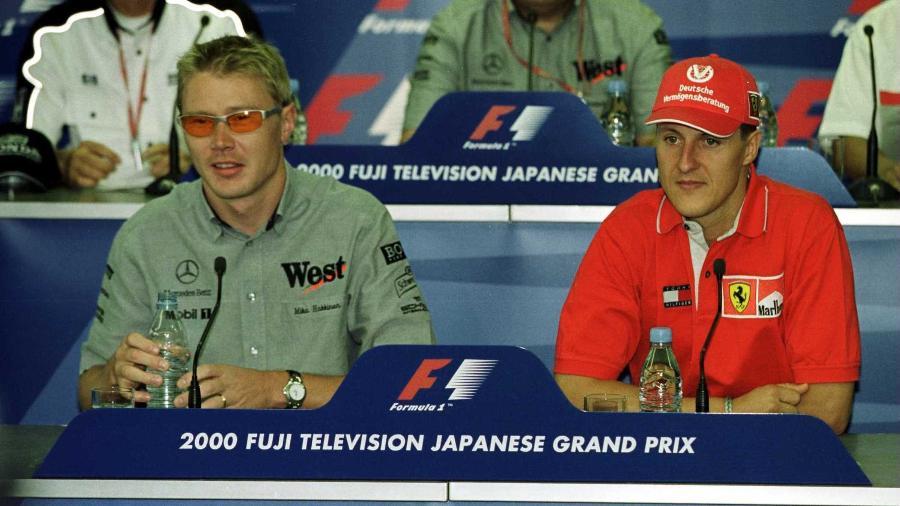 Michael Schumacher tinha pesadelos com acidente de Senna - Mark Thompson/ALLSPORT