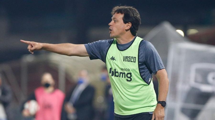 Técnico do Vasco, Fernando Diniz enalteceu entrega de seus jogadores nos treinos e jogos - Rafael Ribeiro / Vasco