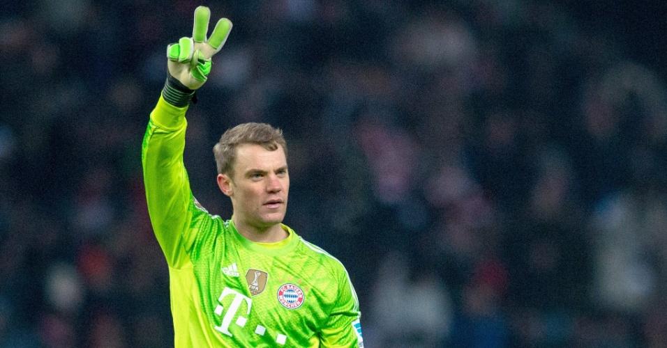 Neuer disputou a Bola de Ouro de 2014