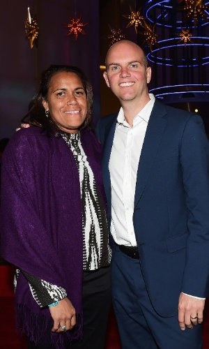 Cathy Freeman e seu marido, James Murph