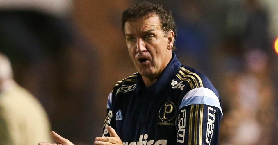 Cuca comanda o Palmeiras na estreia pelo clube como treinador