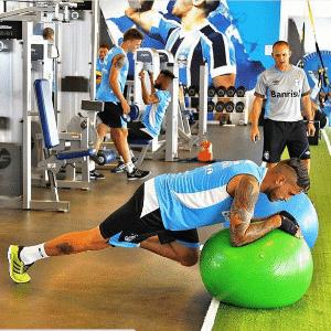 Braian Rodríguez publica foto em treinamento físico do Grêmio - Reprodução/Instagram