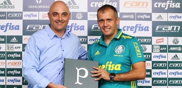 Eduardo Baptista faz a estreia em partidas oficiais pelo Palmeiras neste domingo
