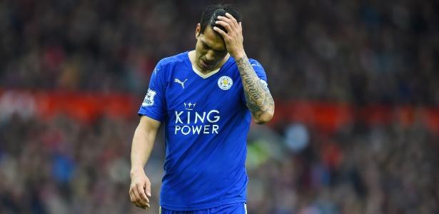 Campeão inglês no ano passado, Leicester agora briga contra o rebaixamento
