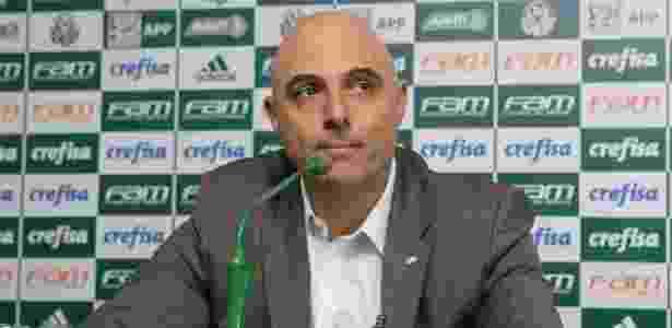 Mauricio Galiotte, presidente do Palmeiras, disse não à proposta da Globo - Rivaldo Gomes/Folhapress