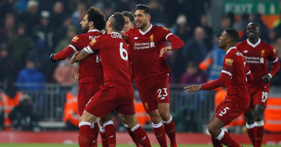 Sete gols no clássico inglês | Liverpool acaba com invencibilidade do Manchester City