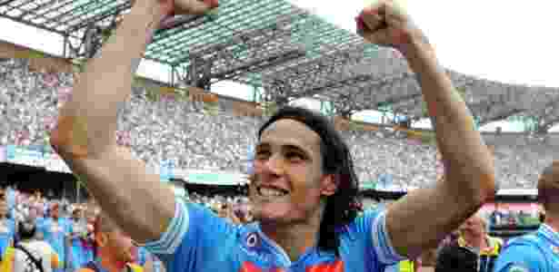 Cavani no Napoli - Giuseppe Bellini/Getty Images - Giuseppe Bellini/Getty Images