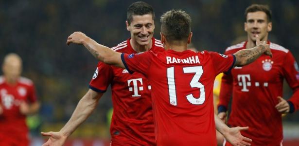 Bayern venceu o AEK, mas enfrentou dificuldades na Grécia - Alkis Konstantinidis/Reuters