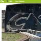 Ônibus do Palmeiras se choca contra parede do estádio do San Lorenzo