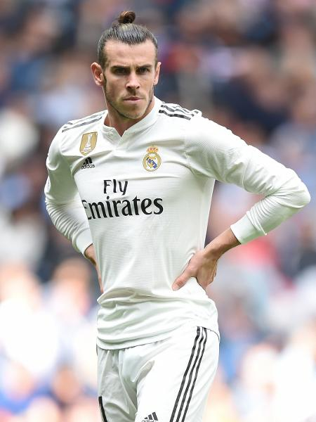 Gareth Bale, do Real Madrid, durante jogo contra o Levante pelo Campeonato Espanhol - Denis Doyle/Getty Images
