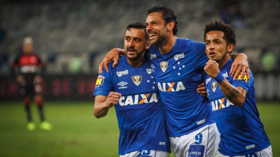 Caixa: patrocinadora do Cruzeiro no ano passado - Vinnicius Silva/Cruzeiro