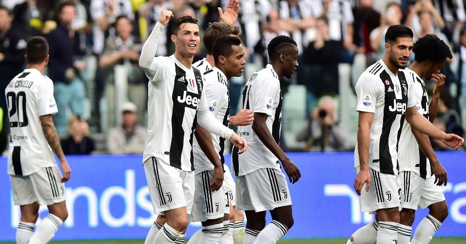 Cristiano Ronaldo primeiro título com a Juve