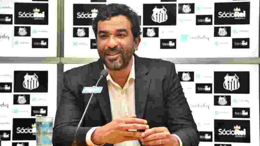 Marcelo Frazão, executivo de marketing e comunicação do Santos - Ivan Storti/Santos FC