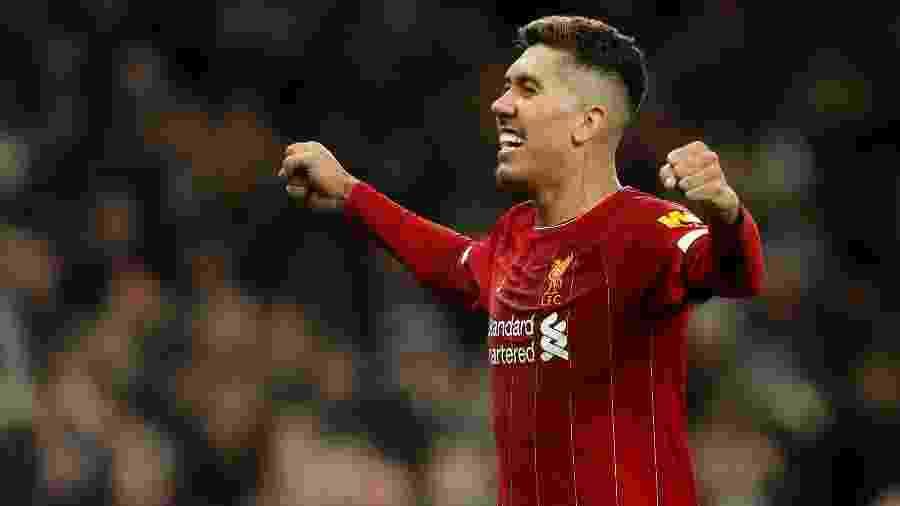 Roberto Firmino vive fase goleadora e se mostrou decisivo para o Liverpool em duas competições - Matthew Childs/Action Images via Reuters