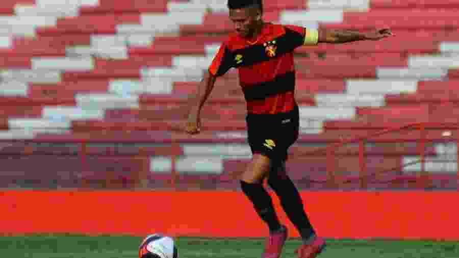 Pablo Pardal, jogador do Sport - Anderson Stevens/Sport Club do Recife/Divulgação