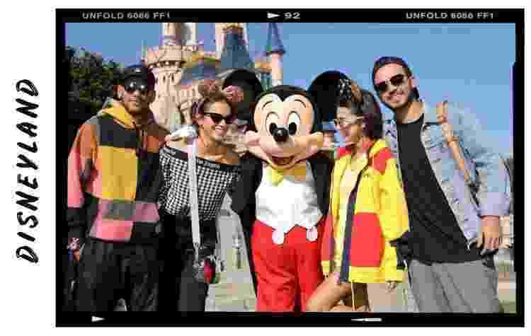 Neymar, Bruna Marquezine e Neymar na Disney - Reprodução/Instagram - Reprodução/Instagram
