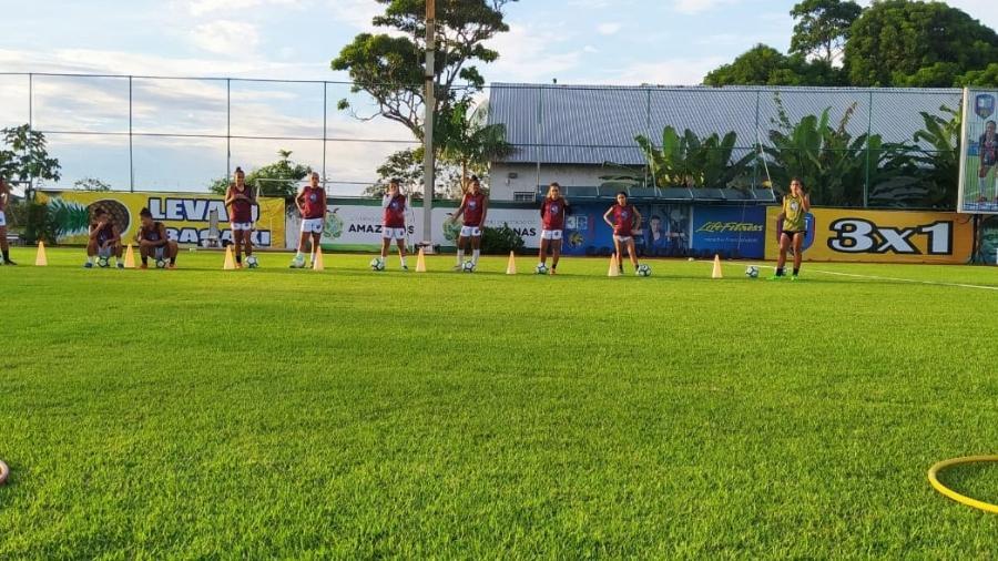 Elenco do 3B treina para a Série A2 do Brasileiro Feminino - Divulgação