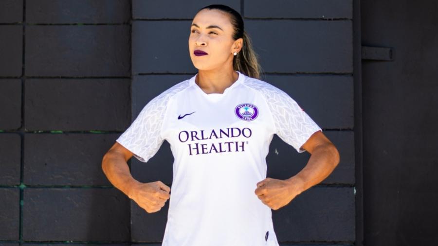 Marta renovou contrato com o Orlando Pride, dos Estados Unidos - Orlando Pride/Divulgação