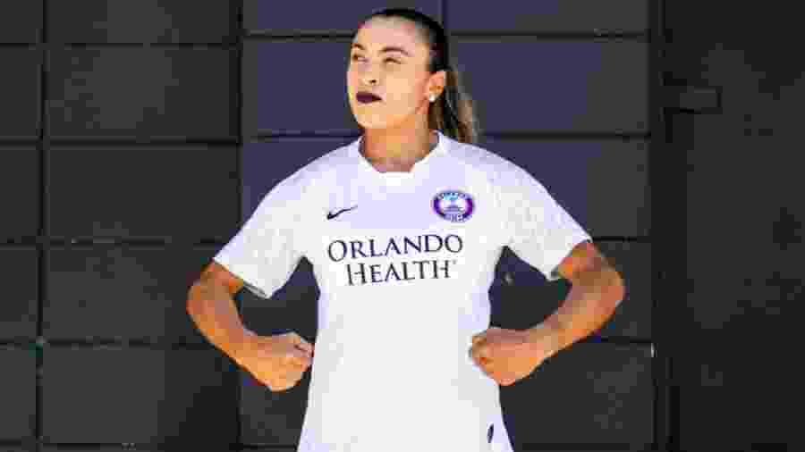 Orlando Pride, de Marta, se retirou de campeonato após seis jogadoras e quatro funcionários testarem positivo - Orlando Pride/Divulgação