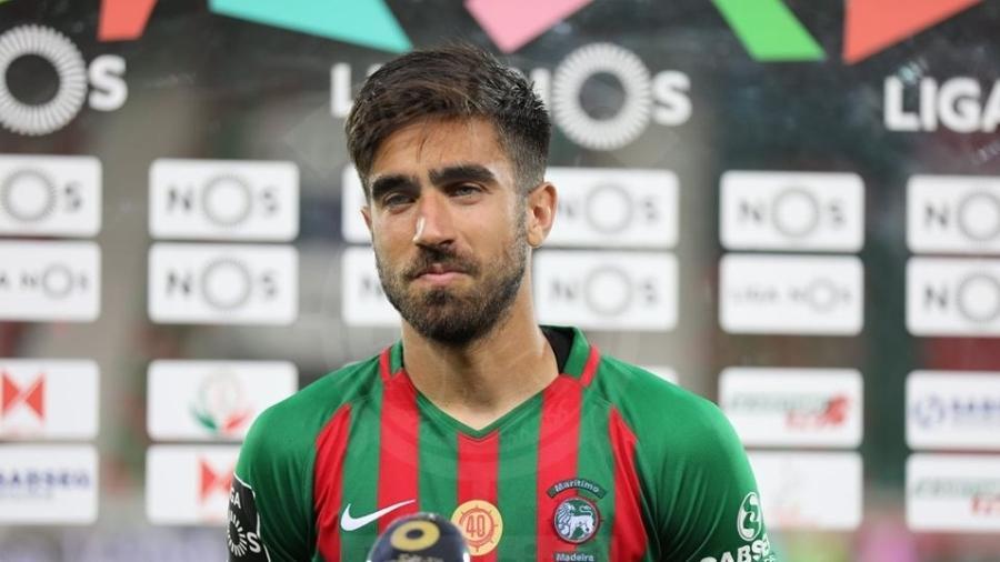 Rodrigo Pinho é o artilheiro do Marítimo, principal clube da Ilha da Madeira, casa de CR7 - Divulgação