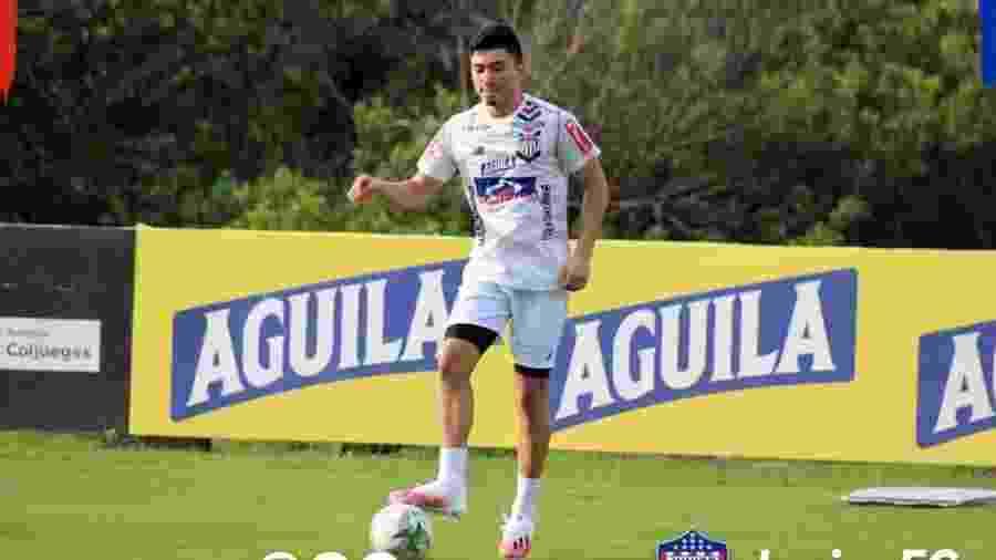 Fabián Ángel, do Junior Barranquilla e da seleção colombiana sub-20, interessa ao Vasco, mas valores assustam - Junior Barranquilla