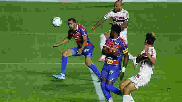 Gol do São Paulo - Marcello Zambrana/AGIF - Marcello Zambrana/AGIF