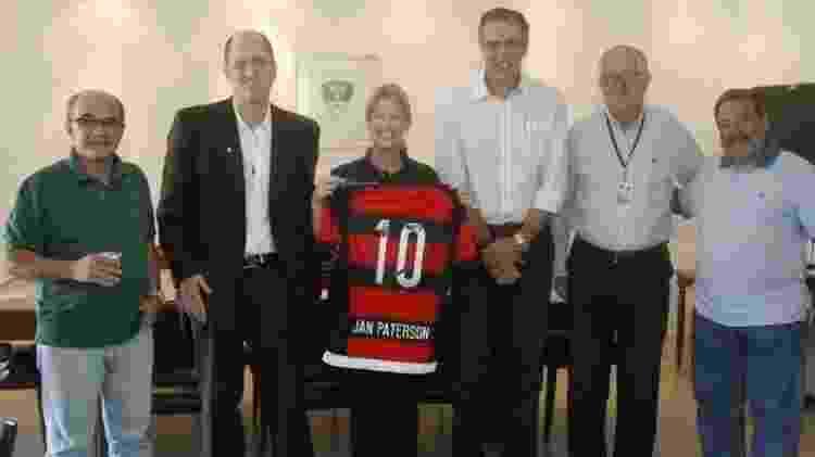 Marcelo Helman e Bandeira de Mello Flamengo - Divulgação - Divulgação