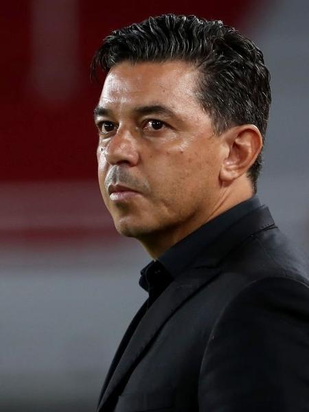 Marcelo Gallardo no comando do River Plate - Juan I. Roncoroni ? Pool/Getty Images