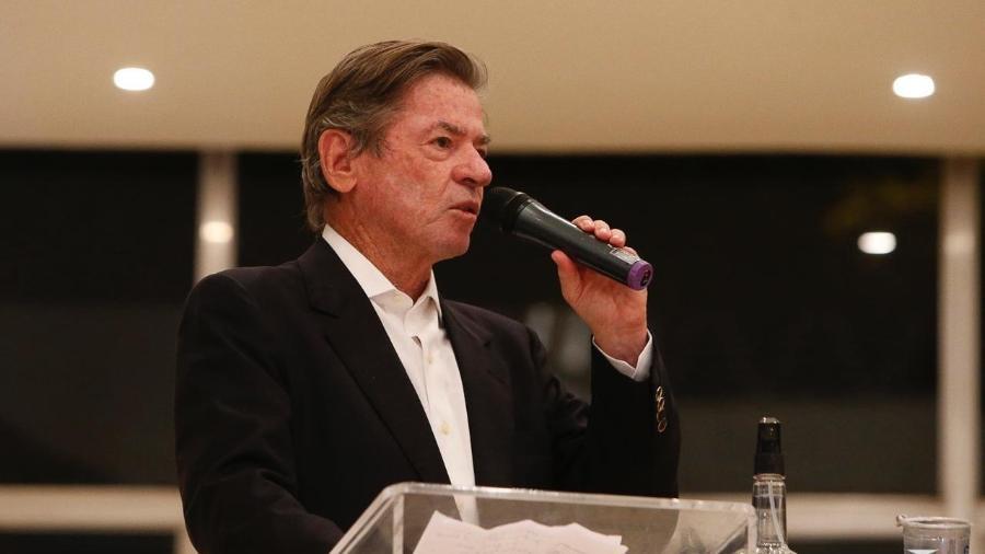 Jorge Salgado divulgou o balanço com dívida milionária do Vasco - Rafael Ribeiro / Vasco