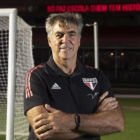 Zetti foi anunciado como novo preparador de goleiros da base do São Paulo: deixará Band neste fim de semana  - Rubens Chiri / saopaulofc.net