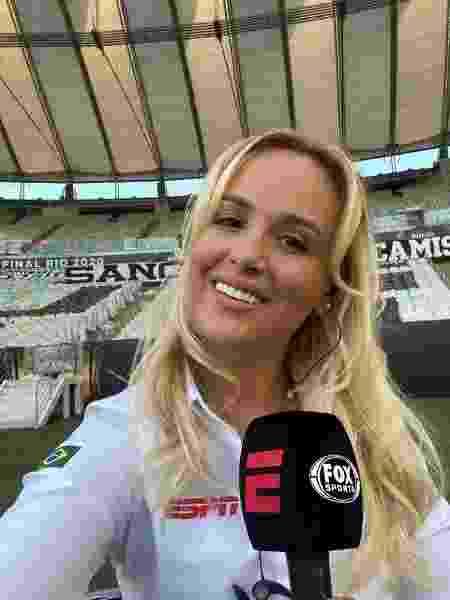 Bibiana Bolson, repórter da ESPN e nova setorista do Palmeiras - Divulgação - Divulgação