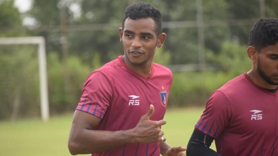 Óscar González, jogador do Monagas, da Venezuela, perdeu Copa América por passaporte vencendo - Twitter oficial Monagas