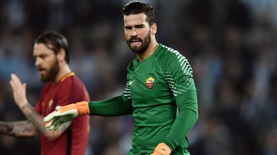 Hoje no Liverpool, goleiro Alisson ainda é a venda mais cara da Roma - Getty Images