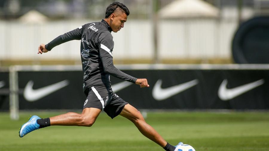 Cantillo em treino do Corinthians - Rodrigo Coca/Agência Corinthians