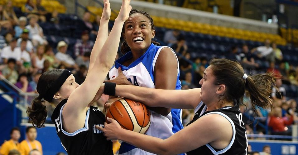Cuba e Argentina se enfrentam pelo basquete feminino