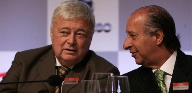 Teixeira e Del Nero estão no Brasil, mas são investigados pela polícia dos EUA