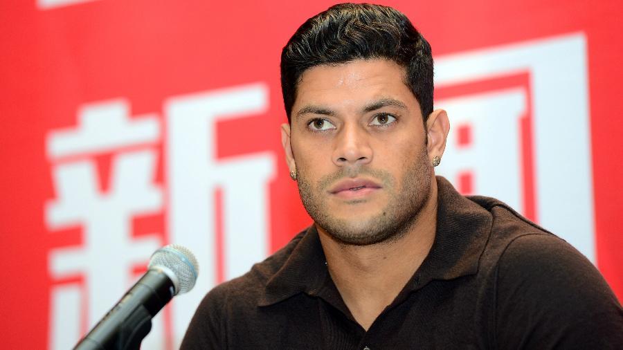 Hulk no Shanghai, da China. Jogador decidiu não renovar contrato com o clube - REUTERS/Stringer