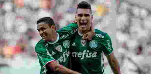 Moisés comemora gol sobre Corinthians - Marcello Zambrana/AGIF - Marcello Zambrana/AGIF