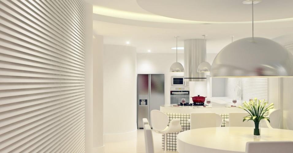 Como ficará a cozinha da casa do zagueiro