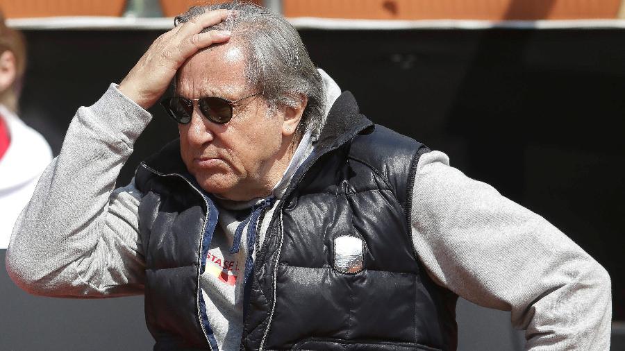Ilie Nastase, capitão da Romênia, está suspenso da Fed Cup até 2020 - Inquam Photos/George Calin/via REUTERS