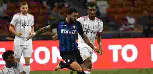 Gabigol chegou a dar assistência na pré-temporada da Inter, mas estaria fora dos planos - Xinhua/Then Chih Wey